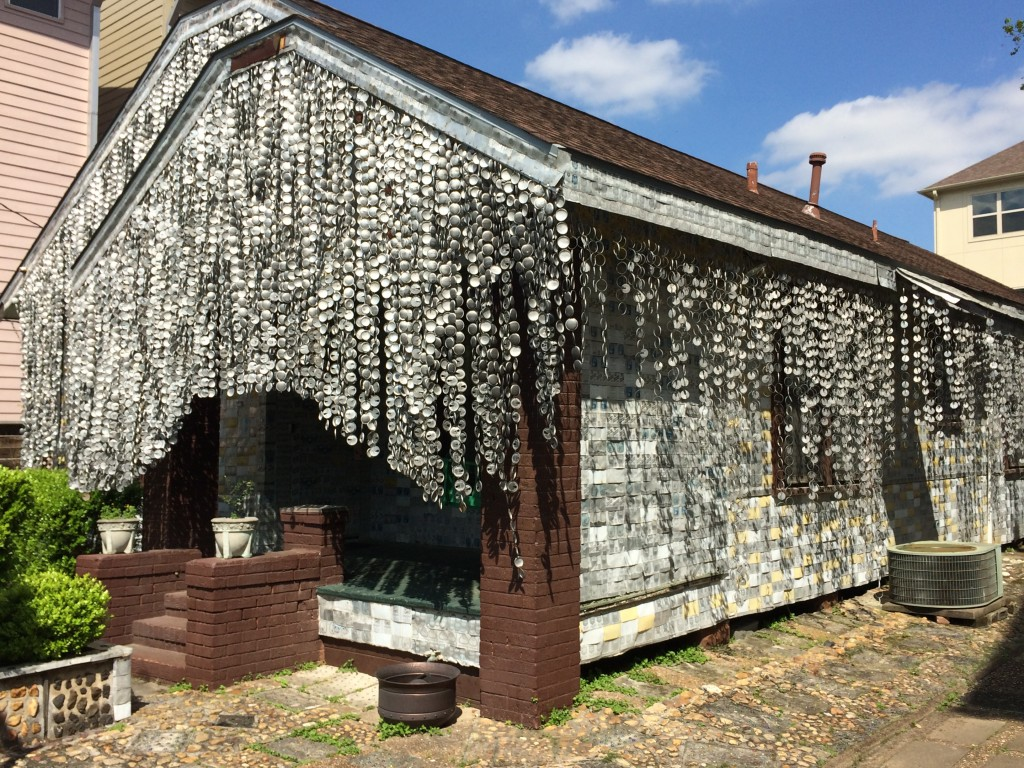 Beer Can House Side