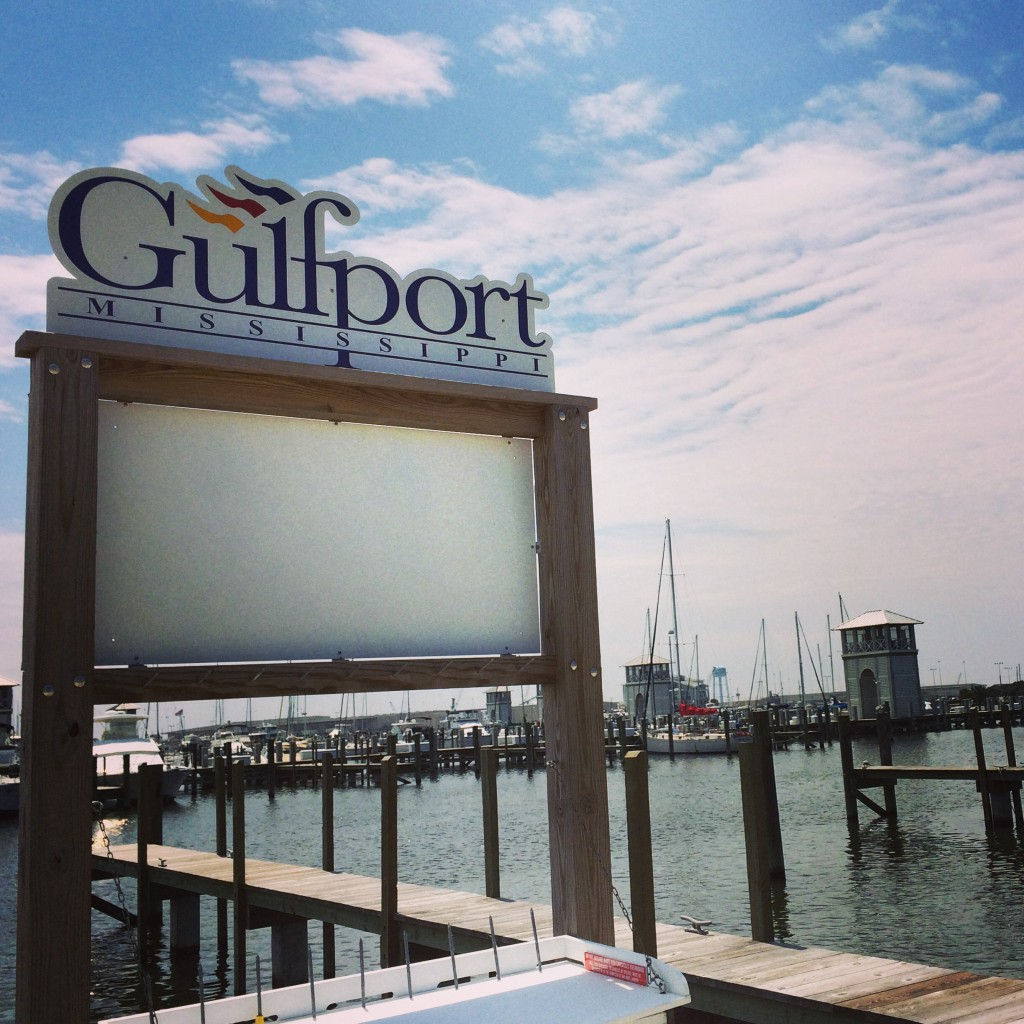The Gulfport, MS marina