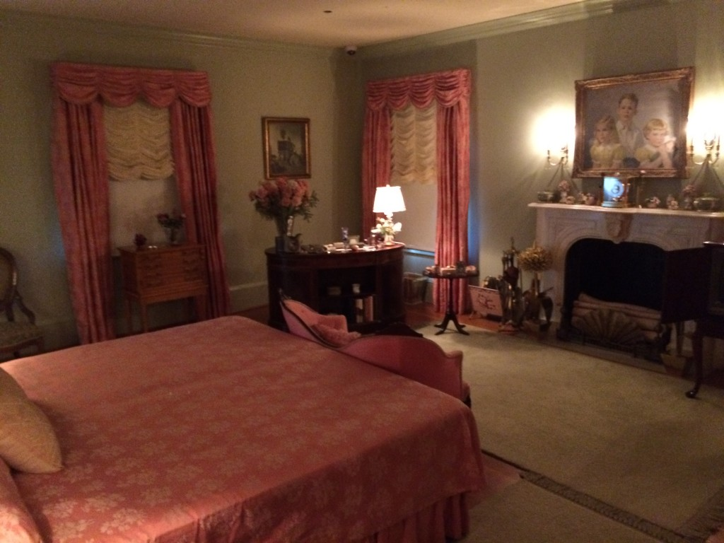 Eisenhowers Bedroom
