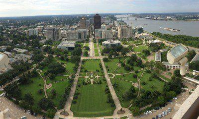 Pano View Of Baton Rouge
