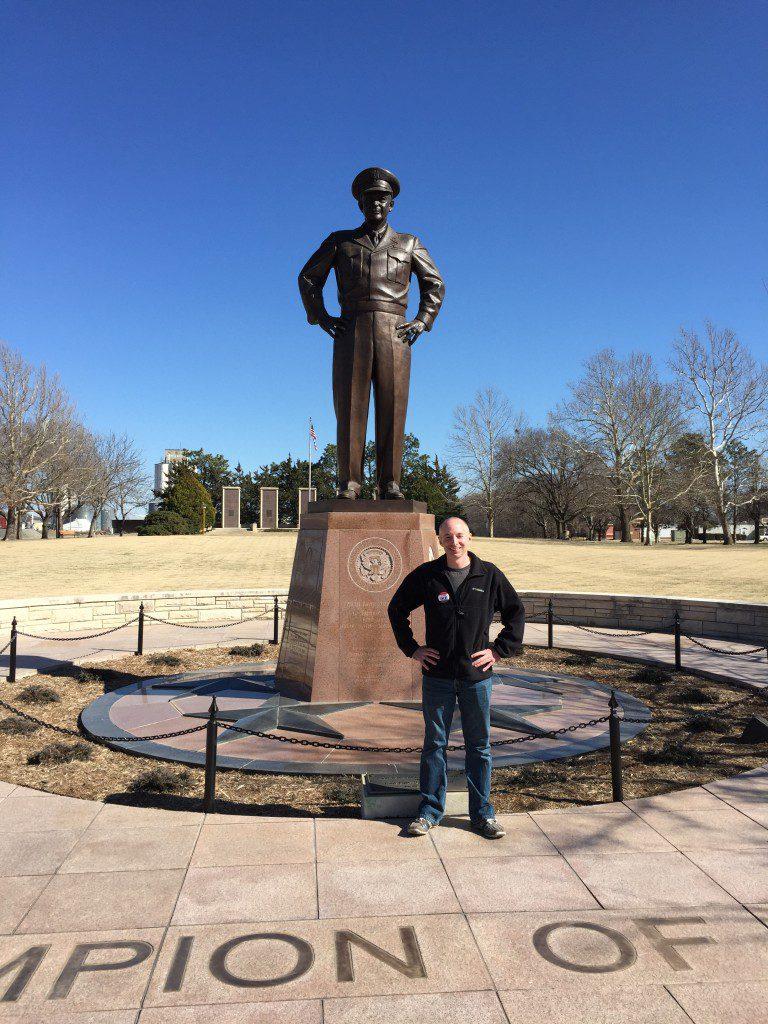Ike Statue