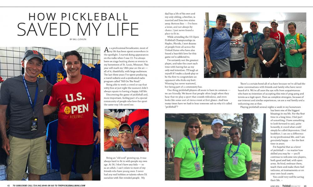 Pickleball Magazine Article Summer 2016