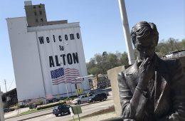Lincoln Alton Illinois Debate