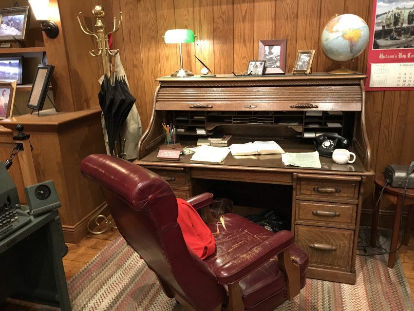 Billy Graham's office desk